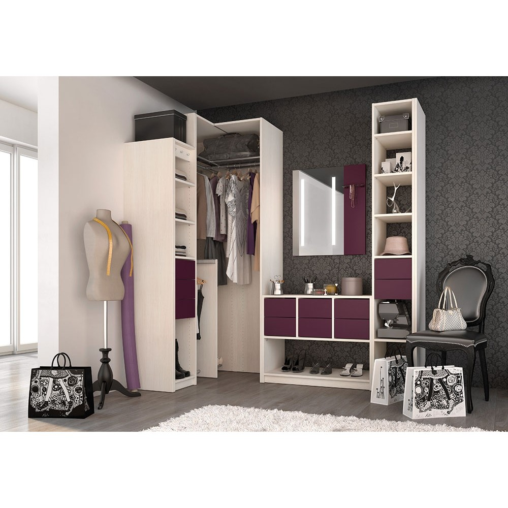 le dressing d angle le rangement parfait pour mes habits. Black Bedroom Furniture Sets. Home Design Ideas