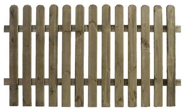 Barri re bois brico depot for Barriere de jardin en bois