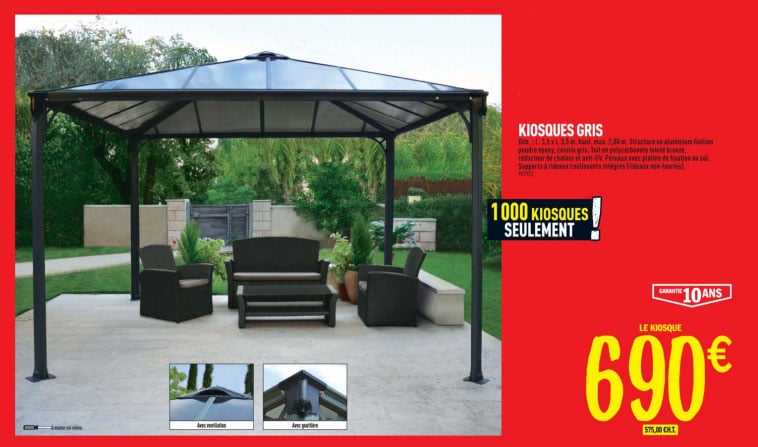 pergola terrasse brico depot id es de design pour les d corations de terrasses. Black Bedroom Furniture Sets. Home Design Ideas